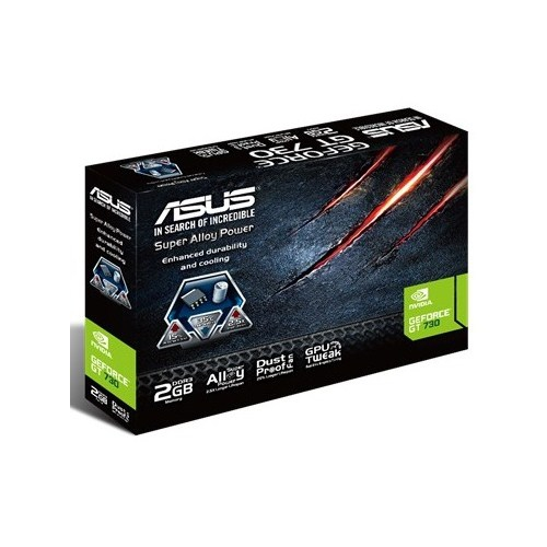 Asus Nvidia GeForce GT 730 2GB 128Bit DDR3 (DX11) PCI-E 2.0 Ekran Kartı